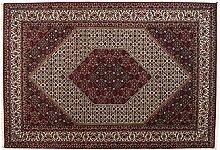 Großteppich Bidjar Indien ca. 300 x 205 cm · Rot · handgeknüpft · Schurwolle · Klassisch · hochwertiger Teppich · S099075