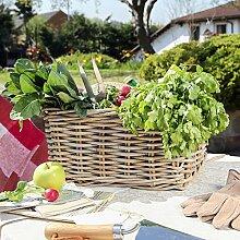 Großväter 'Home Grown Kartoffeln Collection Aufbewahrungskorb–A Great Weihnachten Geschenkidee–Höhe 20cm Breite 30cm Tiefe 38cm