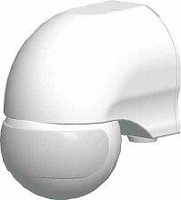 Grothe Bewegungsmelder 110 Grad, 230 V, Aufputz, IP44, Mc Guard mini BM 110 ws, weiß, 5167045