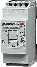 Grothe Klingel Transformator 12 V AC, 1,5 A, GT