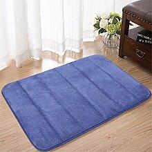 Ground Mat dicke Matten Bad Rutschfeste Matte Schlafzimmer Füße Küche Tür mat-80 cm * 120 cm