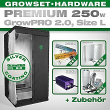 Growbox GrowPRO 2.0 L - Grow Set für Indoor