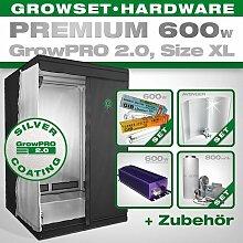 Growbox GrowPRO 2.0 XL - Grow Set für Indoor