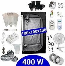 Growbox Komplettset 400 Watt HPS Adjust-a-Wings