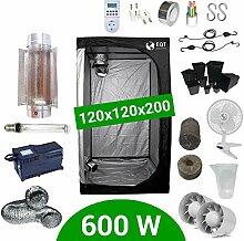 Growbox Komplettset 600 Watt HPS Cooltube Protube