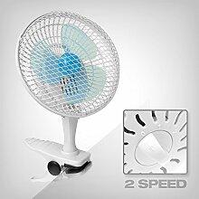 GrowPRO Clip Ventilator - idealer Tischventilator