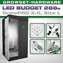 GrowPRO LED Growbox Komplettset mit Greenception