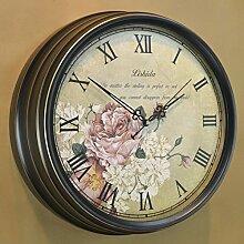 grte Dekorative Wand Uhr/Continental Retro