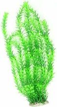 Grün Aquarium Deko Traubenblätter Kunststoff Pflanze 55,1cm hoher