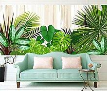 Grün Fototapete 3D 300Cmx210Cm Laub Pflanze