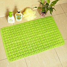Grün gepolsterte rutschfeste badematte/badezimmer-matten/bad badematte-H 59x88cm(23x35inch)