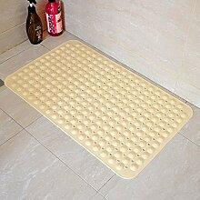 Grün gepolsterte rutschfeste badematte/badezimmer-matten/bad badematte-B 36x70cm(14x28inch)