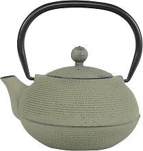 Grün / Graue Teekanne aus Gusseisen - Gusseisen -