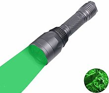 Grün Licht LED Taschenlampe, LUXJUMPER 1000 Lumen