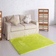 Grün moderner Couchtisch Teppich / Wohnzimmer Sofa Farbe Teppich / Schlafzimmer Nachttisch Teppich ( größe : 100*160cm )