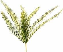 Grün Nachahmung 13-Gabeln Boston Farn Kunststoff Kunstrasen Verlässt Pflanze
