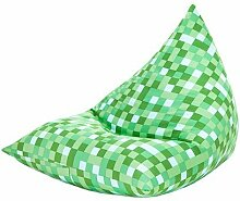 Grün Pixel Design Groß Pyramidenförmigen