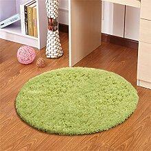 Grün runde Teppich Wohnzimmer Schlafzimmer Studie