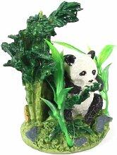 Grün, schwarz, Unterwasser Synthetik Panda Dekoration für Aquarium