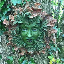 Grün Spirit groß, Baummann Greenman Wandtafel