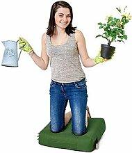 Grün Wasserabweisende Outdoor Gadren Workshop DIY kniend Pad Sitzsack mit Griff und Taschen