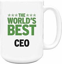 Grün Worlds Best CEO Big 444ml Becher 050