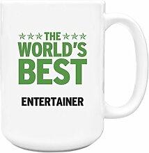 Grün Worlds Best Entertainer Big 444ml Becher 110