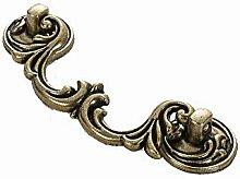 Grüne Bronze Griff Europäische Antik Kupfer