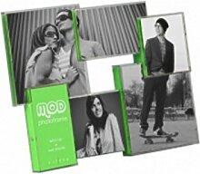 Grüne Collage Fotorahmen