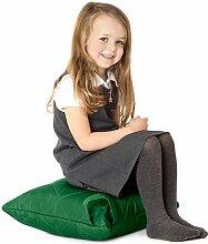 Grüne, gesteppte, wasserabweisende Kissen Sitzsack