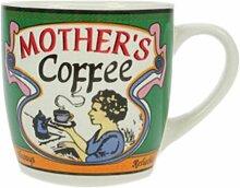 Grüne Kaffeetasse im Kaffeehaus Style, Tasse, Becher, 230 ml