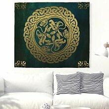 GrüNe Orientalische Dekoration Wandteppich