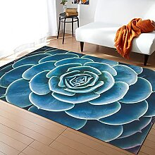 Grüne Pflanze Kaktus Teppiche Für Wohnzimmer