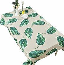 Grüne Pflanze Tischdecke Blätter Bild Tischdecke