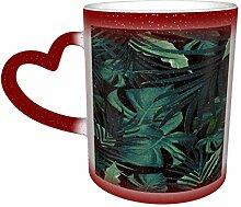 Grüne Pflanze Unisex Sternenhimmel Farbwechsel