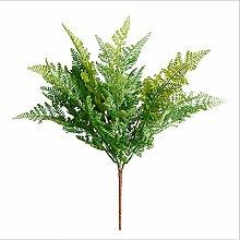 Grüne Pflanzenblumen Simulation Farnblätter