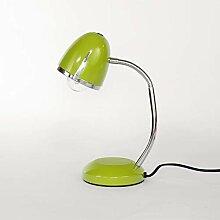 Grüne Schreibtischlampe Retro Design Metall E27