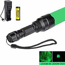 Grüne Taschenlampe, Taktische Jagd Taschenlampen