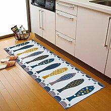Grüne Türmatte/Küche-Fußmatten/Fußmatte/Vakuumöl Matten/Bar Fußmatten/Badezimmer Matte-D 40x60cm(16x24inch)