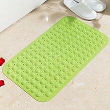 Grüne unscented badematte/anti-sliping badvorleger/bad mat mit sauger-F 39x79cm(15x31inch)