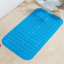 Grüne Unscented Badematte/Toilette,Anti-rutschende Matten/Quadrat,Dusche Matte/Toilette,Bad Badematte-D 39x79cm(15x31inch)