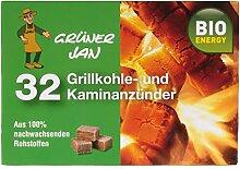 Grüner Jan 32 Grillkohle-und Kaminanzünder