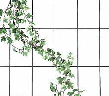 Grüner Jan Blumenspalier aus Metall 150x75cm
