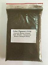 grünlichen braun dark (1LB) Pigment/Farbstoff für Beton, Putz, Holz, Metall, Keramik, Wandfarbe, Ziegel, Fliesen, Render, Pointen, Mörser 4