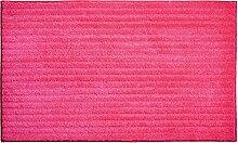 Grund Badematte Riffle pink Größe 70x120 cm
