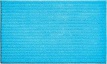 Grund Badematte Riffle türkis Größe 60x100 cm