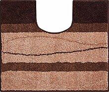 Grund Badteppich, Polyacryl, Braun, 60x50x3 cm