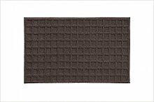 Grund Badteppich, Polyester, braun, 70 x 120 cm
