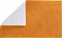 GRUND Badteppich WISCONSIN 60x100 cm orange