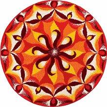 Grund Temperament-Mandala runde ø 80 cm, orange